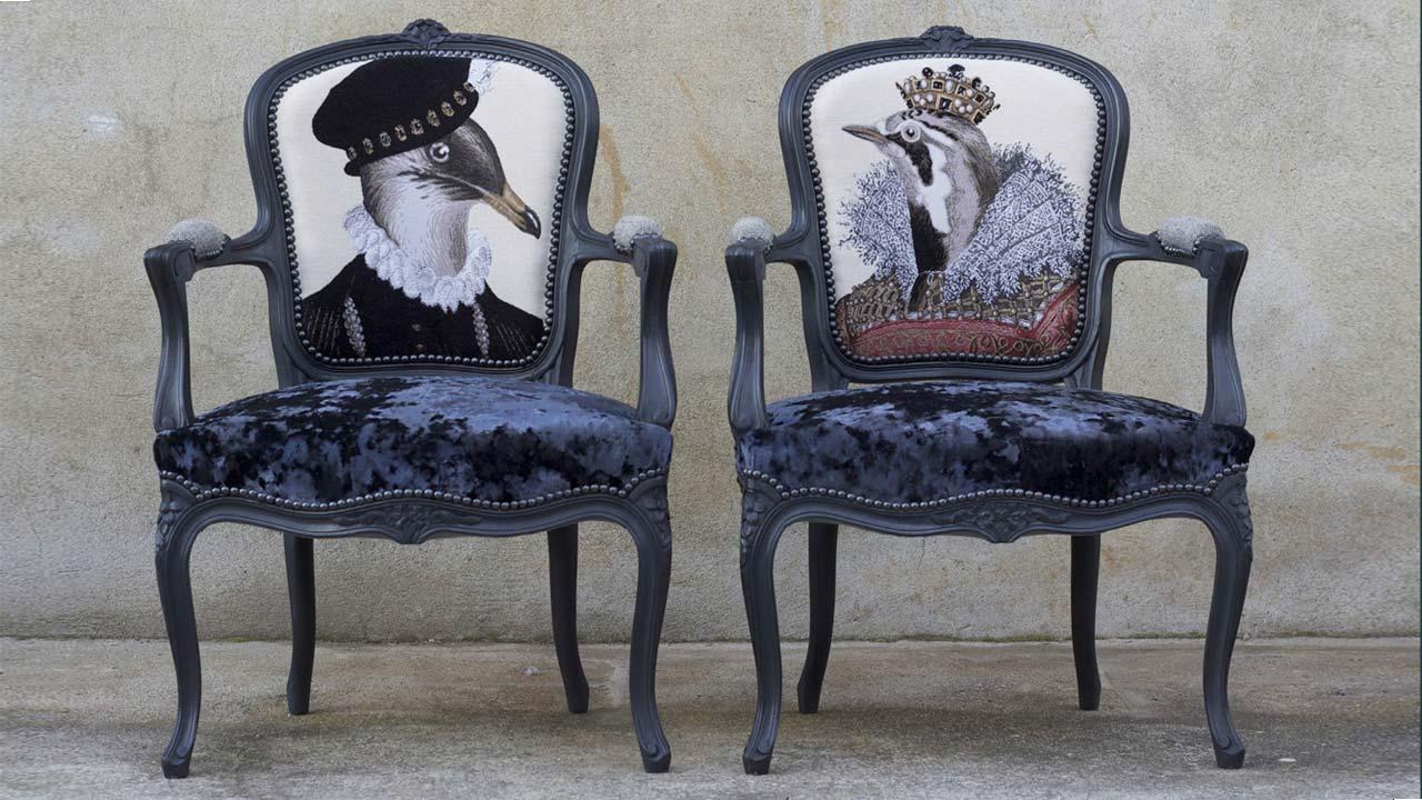 Cabriolets de style Louis XV - Betty Marson