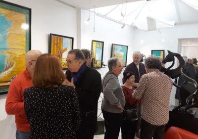 Exposition Versellotti galerie Valat