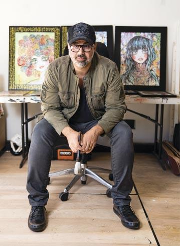 Portrait de l'artiste Ali Sabet